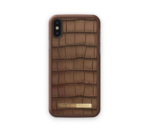 iDeal of Sweden Fashion Case Capri Brown Croco