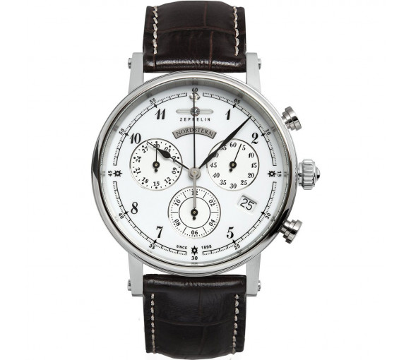 Zeppelin Nordstern Lady Chronograph - 7577-1