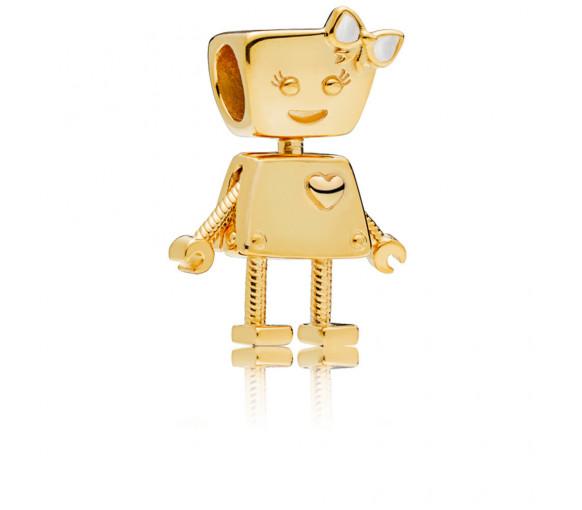 Pandora Shine Bella Bot Charm - 767141EN23