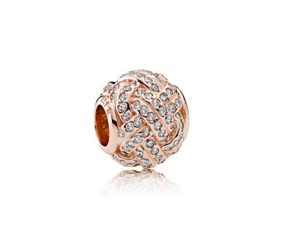 Pandora Funkelnder Liebesknoten Charm - 781537CZ