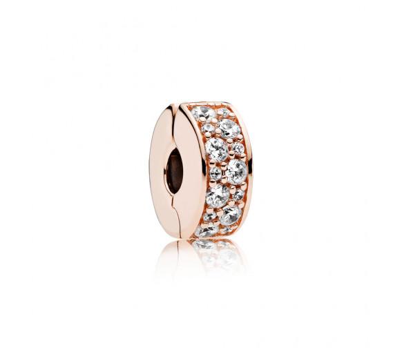 Pandora Pavé-Glanz Charm Clip Charm - 781817CZ