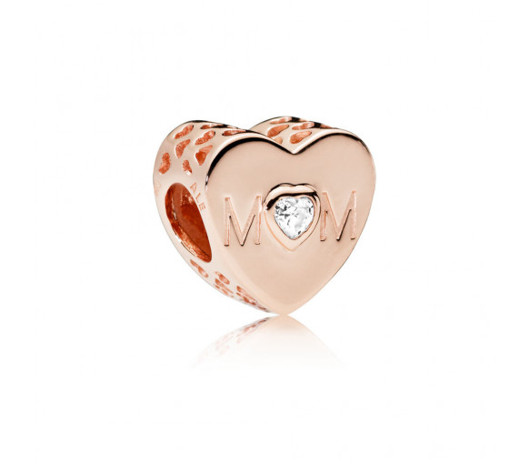 Pandora Mother Heart Charm - 781881CZ