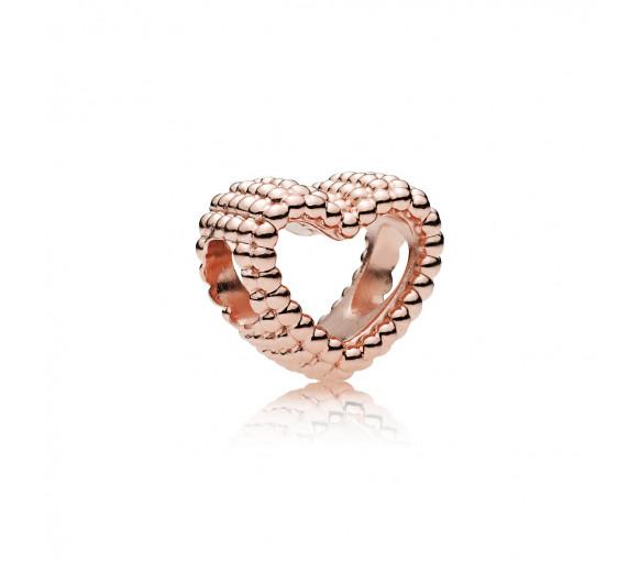 Pandora Beaded Heart Charm - 787516