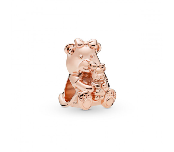 Pandora Rose Mother and Child Teddy Bear Charm - 788007