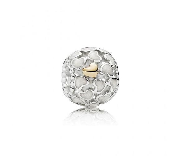 Pandora Silber-Schimmernde Liebe im Überfluss Charm - 791283EN23
