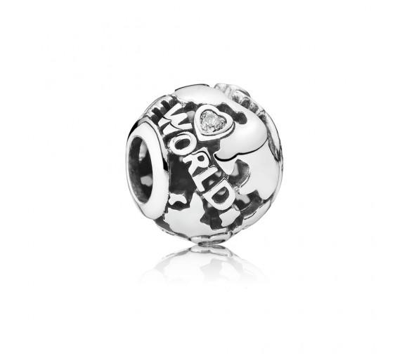 Pandora Around the world Charm - 791718CZ