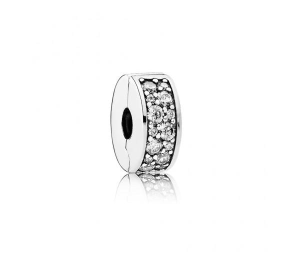 Pandora Charmn Pavé-Glanz Charm - 791817CZ