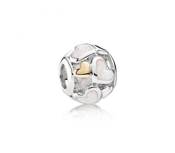 Pandora Zarte Herzen Charm - 791879MOP