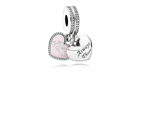 Pandora Best Friends Charm - 791950CZ