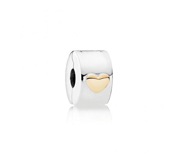Pandora Klassisches Herz Clip Charm - 792080