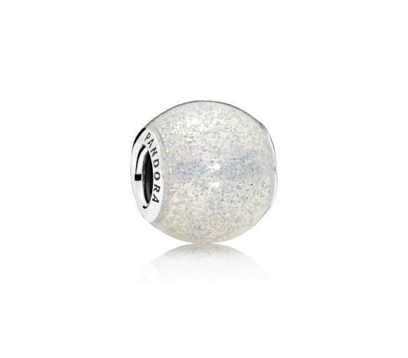 Pandora Silberglänzende Kugel Charm - 796327EN144