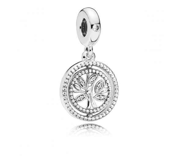 Pandora Spinning Tree of Life Charm - 797786CZ