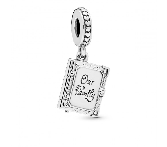Pandora Family Book Openable Charm - 798105