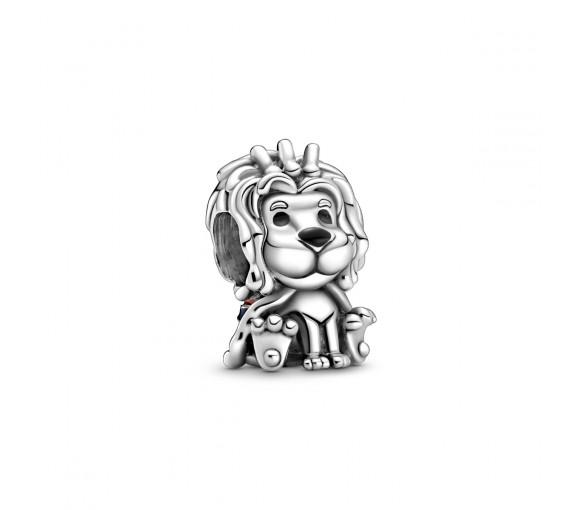 Pandora Wavy Union Jack Lion Charm - 799032C01
