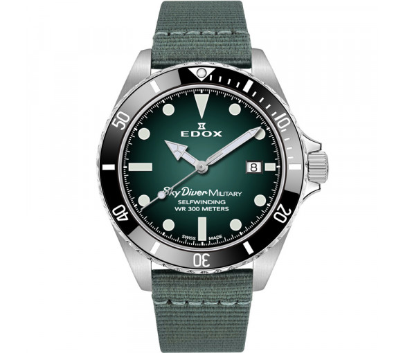 Edox Skydiver Military Limited Edition - 80115 3N VD