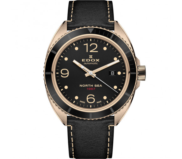 Edox North Sea 1967 Automatic Historical Limited Edition - 80118 BRN N67