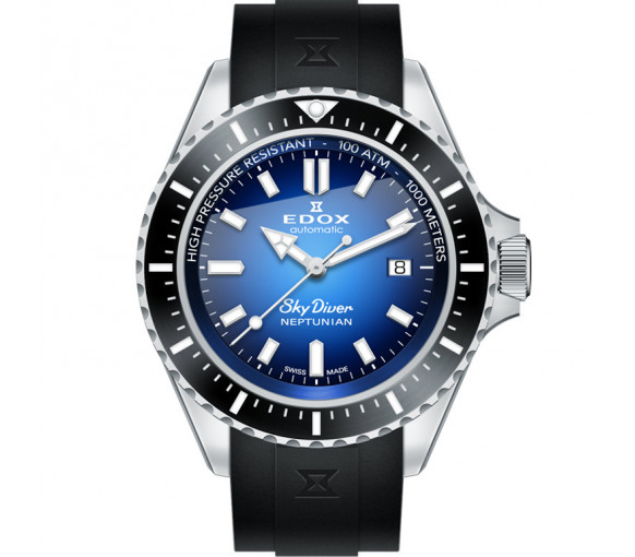 Edox Skydiver Neptunian Automatic - 80120 3NCA BUIDN