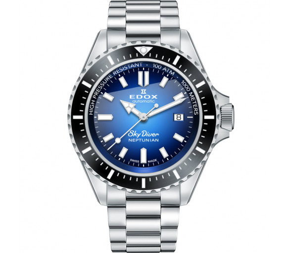 Edox Skydiver Neptunian Automatic - 80120 3NM BUIDN
