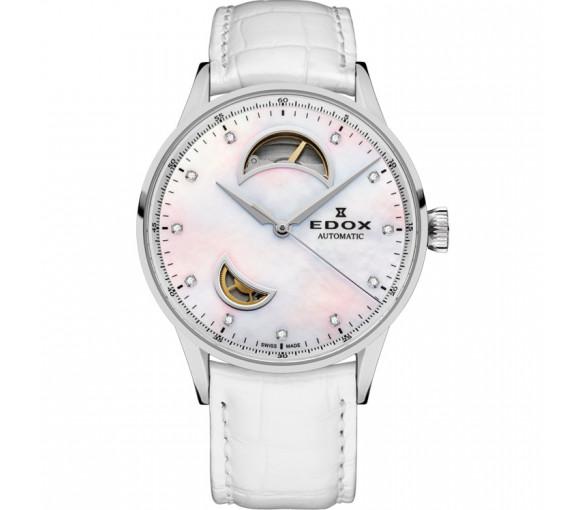 Edox Les Vauberts Open Heart Automatic - 85019 3A NADN