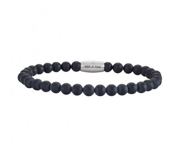 Son of Noa Matt Onyx Armband - 898 004