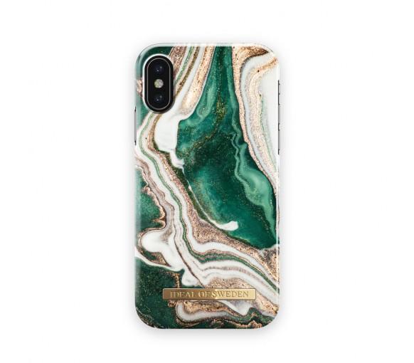 iDeal of Sweden Fashion Case Golden Jade Marble