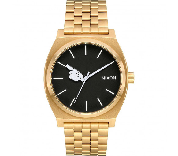 Nixon Time Teller Gold Black Mickey Hand - A045-3097-00