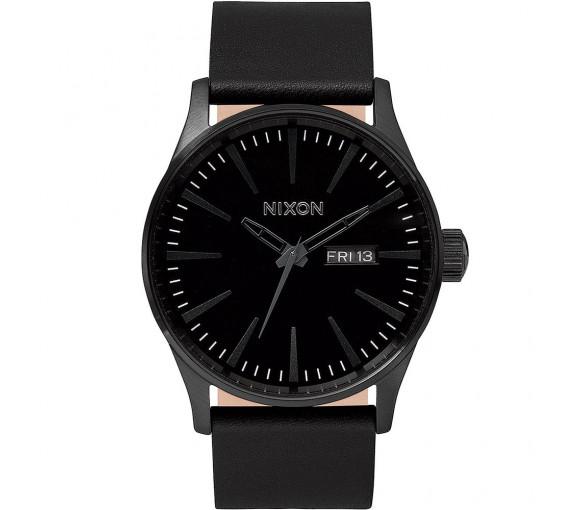 Nixon Sentry Leather All Black - A105-001-00