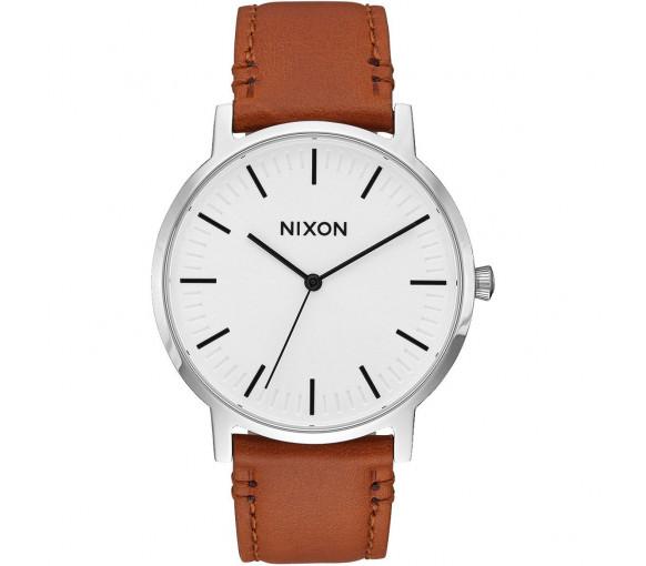 Nixon Porter Leather White Sunray Saddle - A1058-2442-00