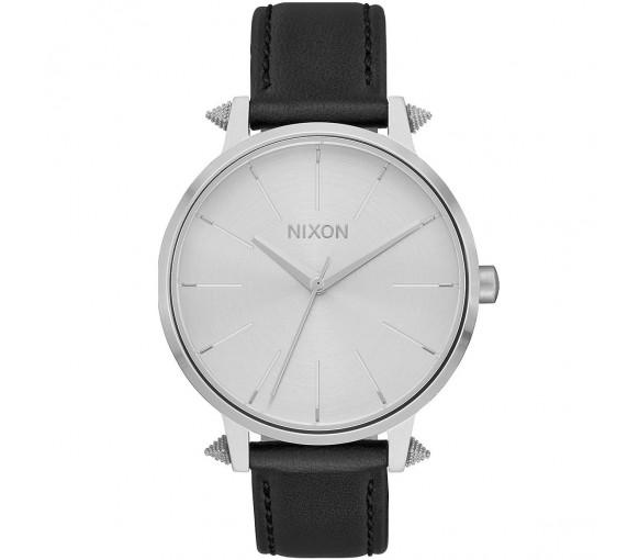 Nixon Kensington Leather Silver Artifact - A108-3149-00
