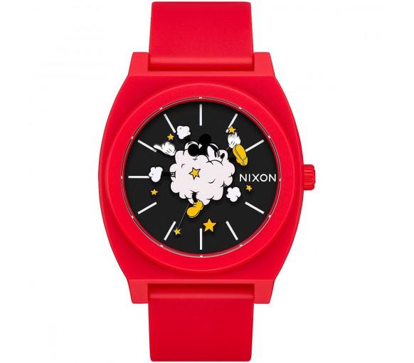 Nixon Time Teller P Red Black Fight Cloud - A119-3098-00