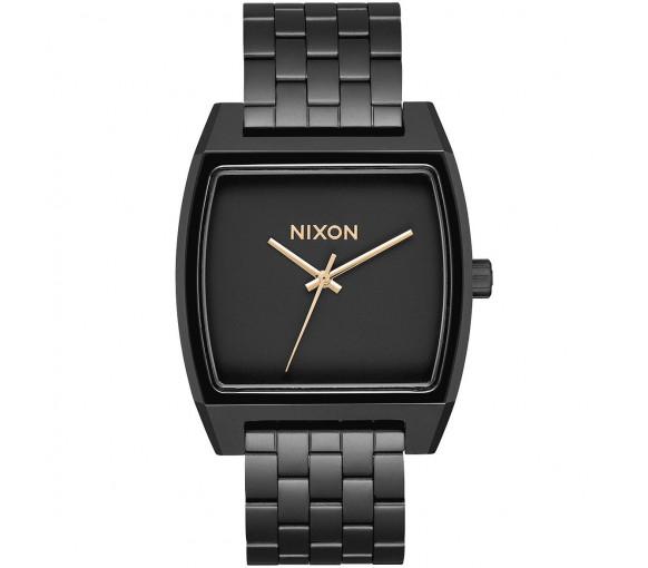 Nixon Time Tracker Matte Black Gold - A1245-1041-00