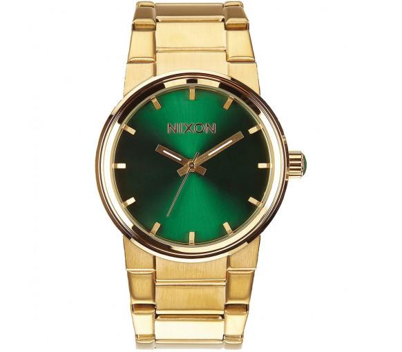 Nixon Cannon Gold Green Sunray - A160-1919-00