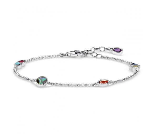 Thomas Sabo Armband Colourful Stones - SCA150276
