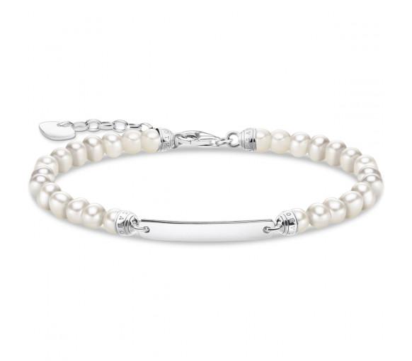 Thomas Sabo Perlen Armband - A2042-082-14-L19V