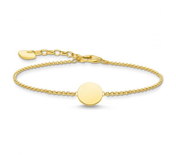 Thomas Sabo Coin Armband Gold - A2043-413-39-L19V