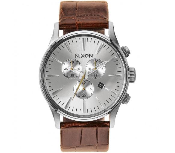 Nixon Sentry Chrono Leather Saddle Gator - A405-1888-00
