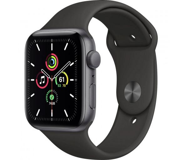 Apple Watch Series SE Space Grey Black Sport Band