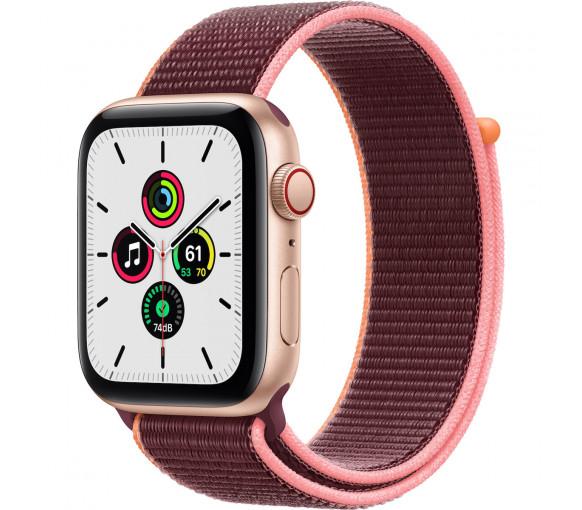 Apple Watch Series SE Cellular Gold Plum Sport Loop (44 mm) - MYF12FD/A