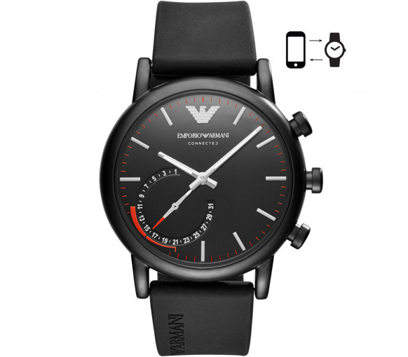 Emporio Armani Connected Luigi Hybrid Smartwatch - ART3010
