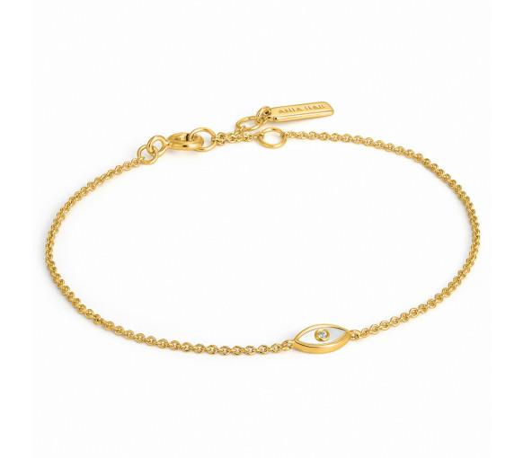 Ania Haie Evil Eye Gold Armband - B030-01G