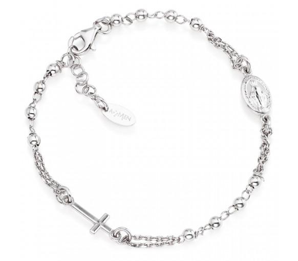 Amen Rosary Cross Armband - BROB3