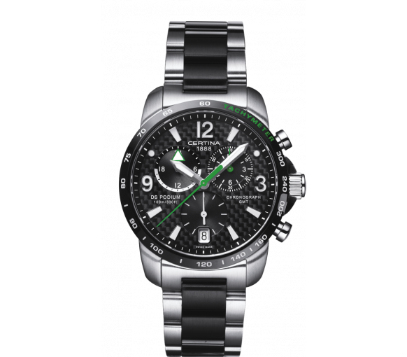 Certina DS Podium Chronograph GMT - C001.639.22.207.02