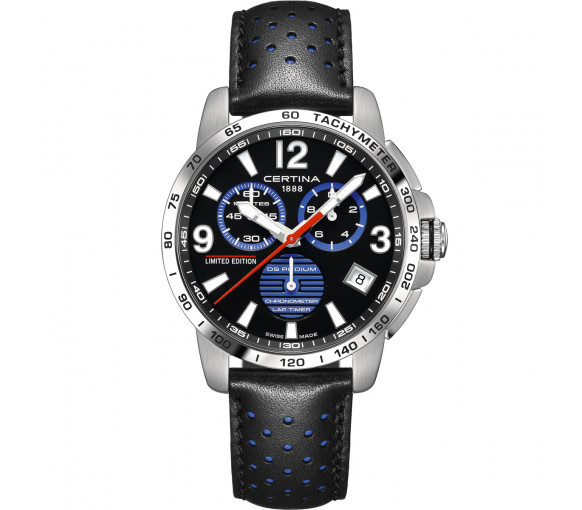 Certina DS Podium Chrono Lap Timer Jeremy Seewer 91 Limited Edition - C034.453.16.057.20