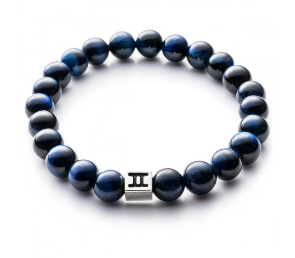 Gemini Classic Tiger Eye Dark Blue - C16