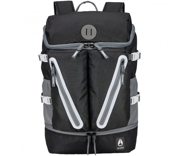 Nixon Scripps Backpack II Black White - C2821-005-00