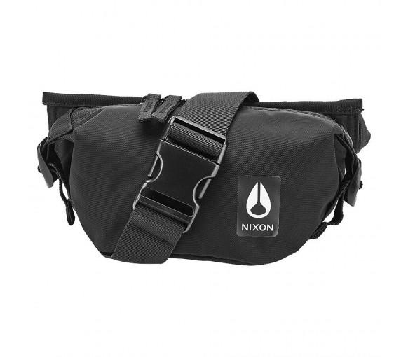 Nixon Trestles Hip Pack All Black Nylon - C2851-1148-00