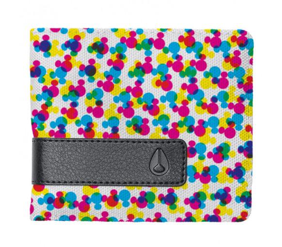 Nixon Showdown Print Bi-Fold Zip Wallet - C2940-3099-00