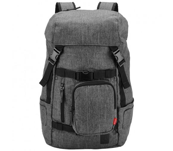 Nixon Landlock Backpack Charcoal Heather - C2950-168-00