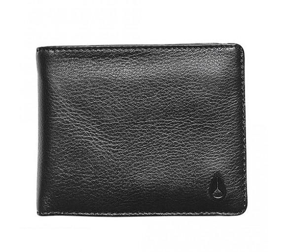 Nixon Pass Leather Coin Black - C2973-000-00