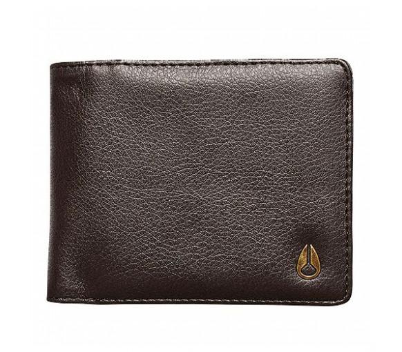 Nixon Pass Vegan Leather Coin Brown - C2974-400-00